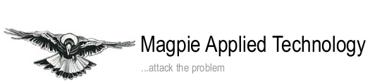 Magpie Applied Technology logo with link to company website.